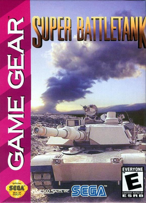 Super Battletank - Sega Game Gear