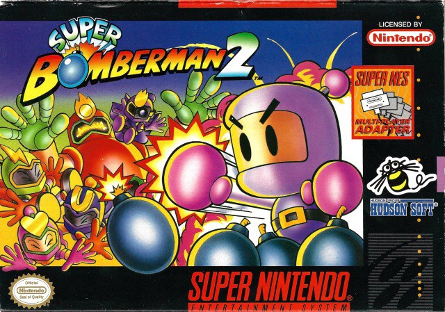 Super Bomberman 2 - Super Nintendo Entertainment System