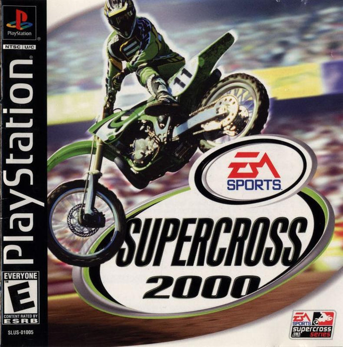 SuperCross 2000 - PlayStation 1