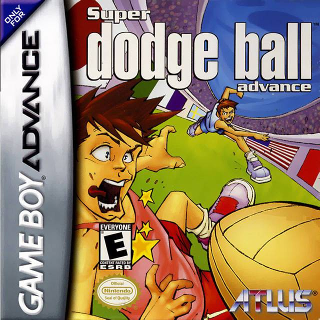 Super Dodge Ball Advance - Game Boy Advance