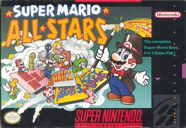 Super Mario All-Stars - Super Nintendo Entertainment System