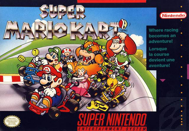 Super Mario Kart - Super Nintendo Entertainment System