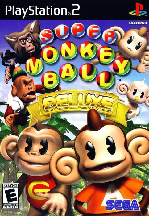 Super Monkey Ball Deluxe - PlayStation 2