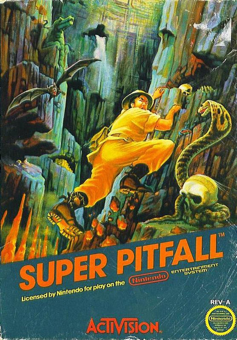 Super Pitfall - Nintendo Entertainment System