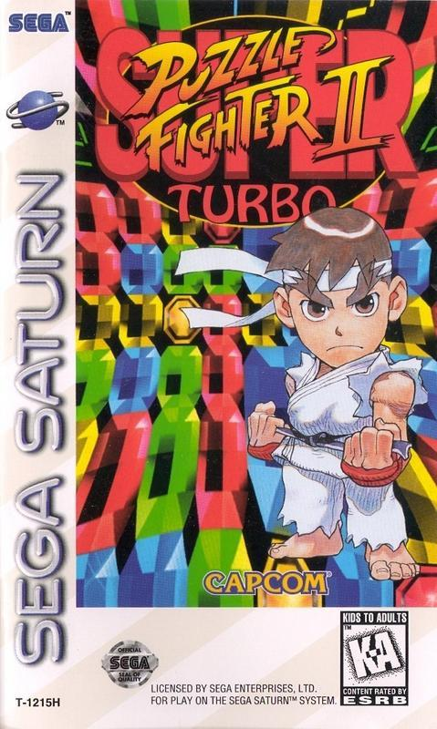 Super Puzzle Fighter II Turbo - Sega Saturn