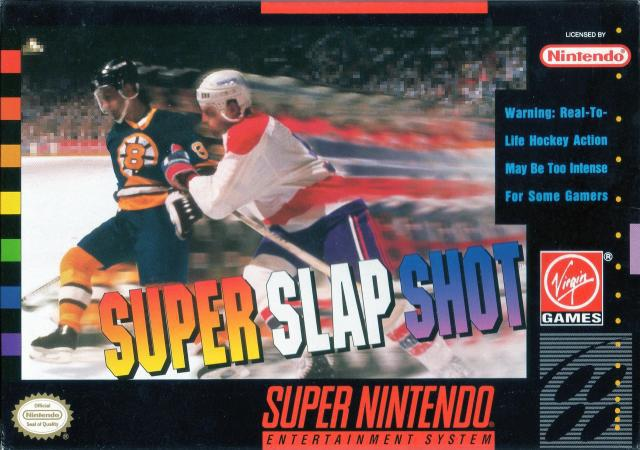 Super Slap Shot - Super Nintendo Entertainment System