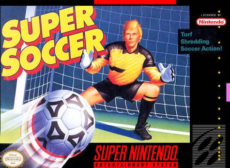 Super Soccer - Super Nintendo Entertainment System