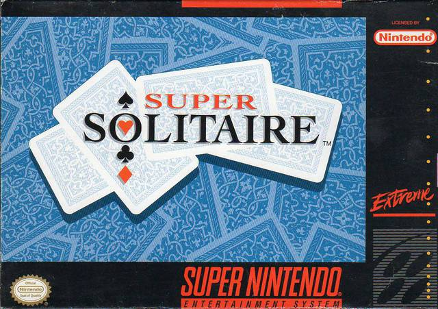 Super Solitaire - Super Nintendo Entertainment System