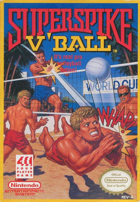 Super Spike VBall - Nintendo Entertainment System