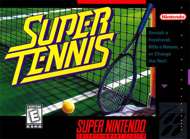 Super Tennis - Super Nintendo Entertainment System