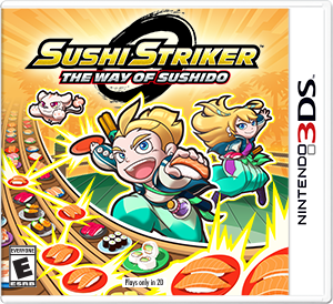 Sushi Striker The Way of Sushido - Nintendo 3DS