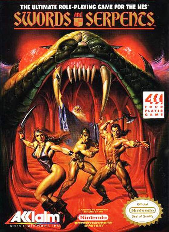Swords and Serpents - Nintendo Entertainment System
