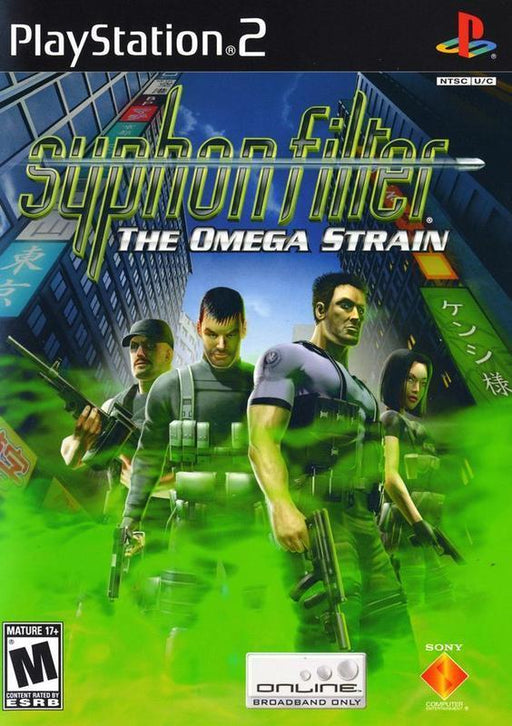 Syphon Filter The Omega Strain - PlayStation 2