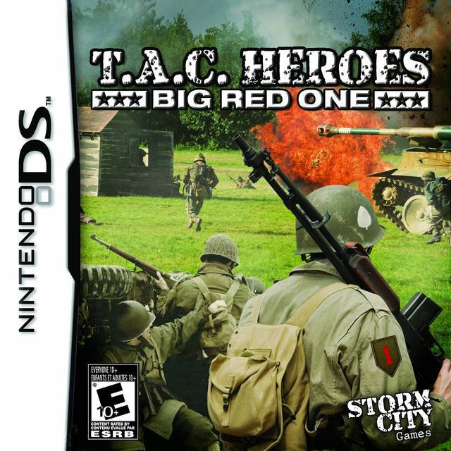 T.A.C. Heroes Big Red One - Nintendo DS