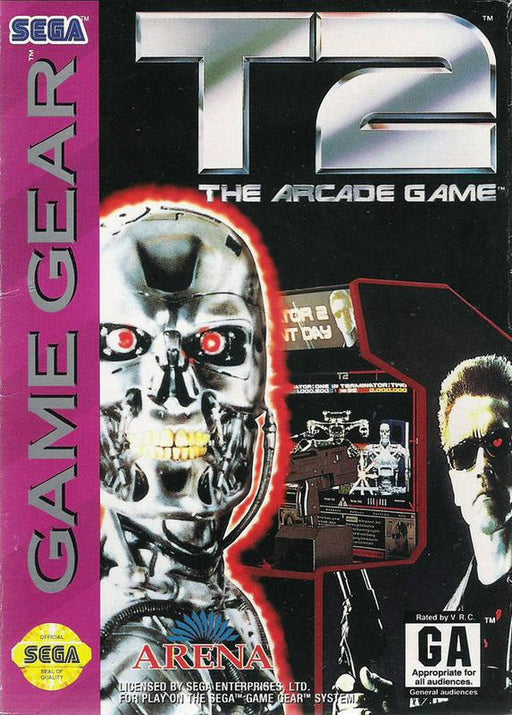 T2 The Arcade Game - Sega Game Gear