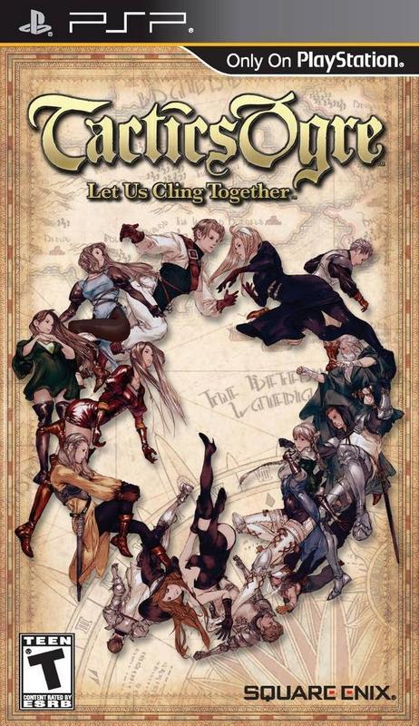 Tactics Ogre Let Us Cling Together - PlayStation Portable