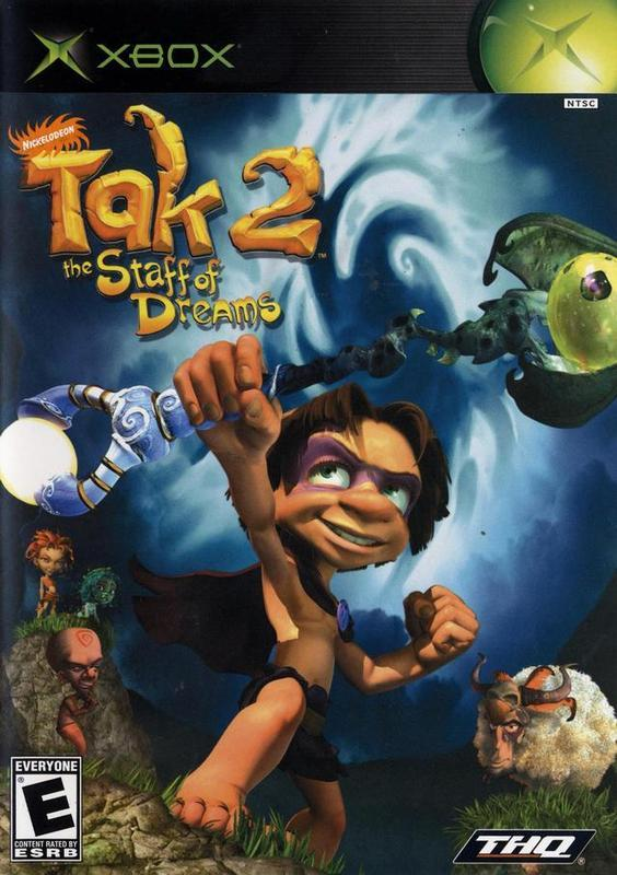 Tak 2 The Staff of Dreams - Xbox