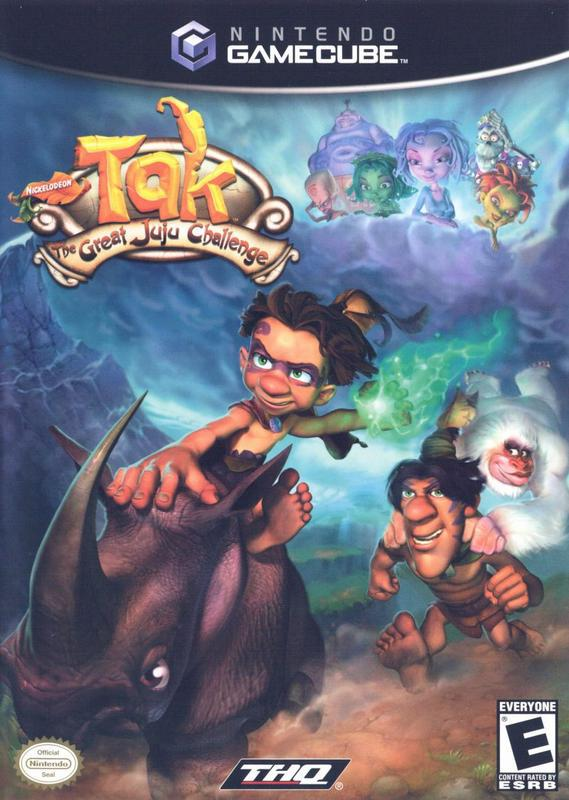 Tak The Great Juju Challenge - Gamecube