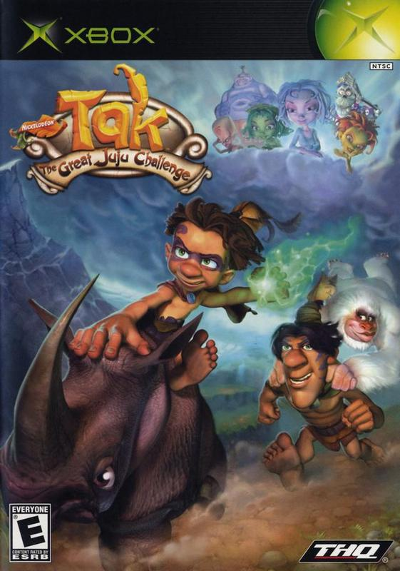 Tak The Great Juju Challenge - Xbox