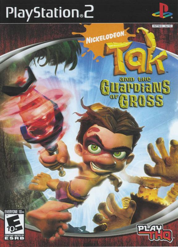 Tak and the Guardians of Gross - PlayStation 2