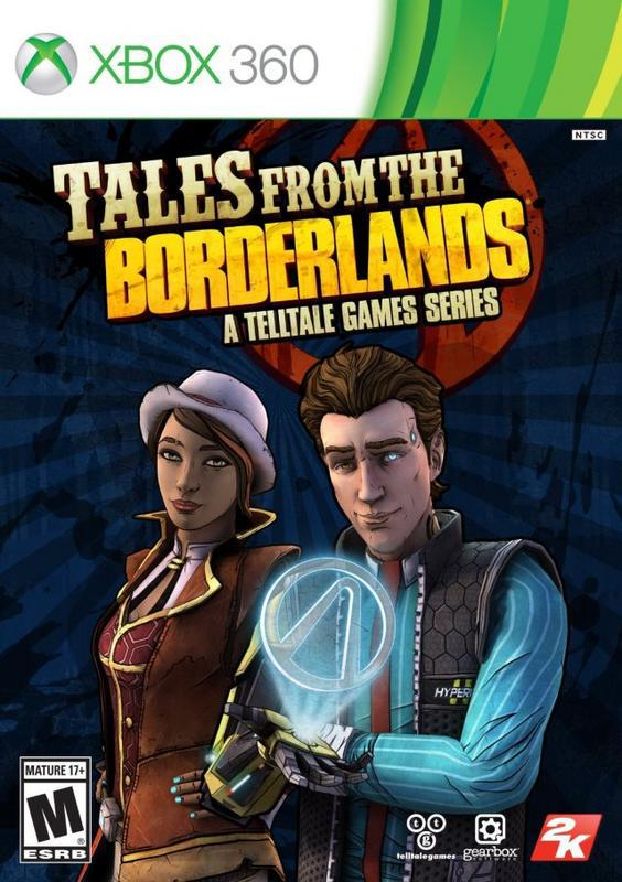 Tales from the Borderlands A Telltale Game Series - Xbox 360