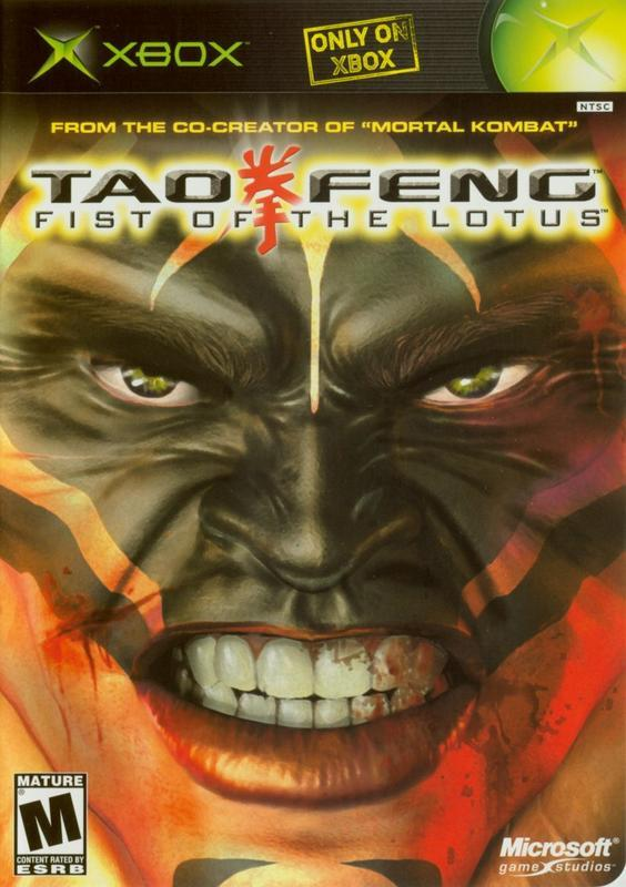Tao Feng Fist of the Lotus - Xbox