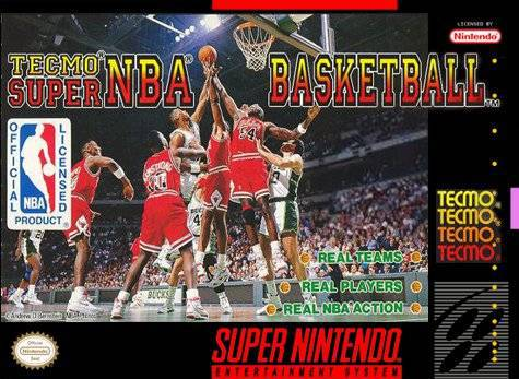 Tecmo Super NBA Basketball - Super Nintendo Entertainment System