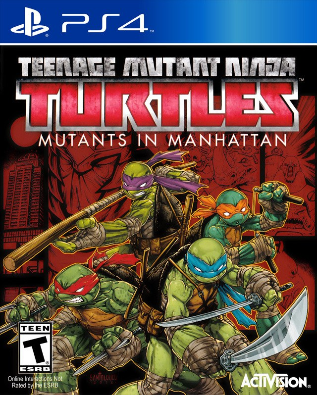 Teenage Mutant Ninja Turtles Mutants in Manhattan - PlayStation 4