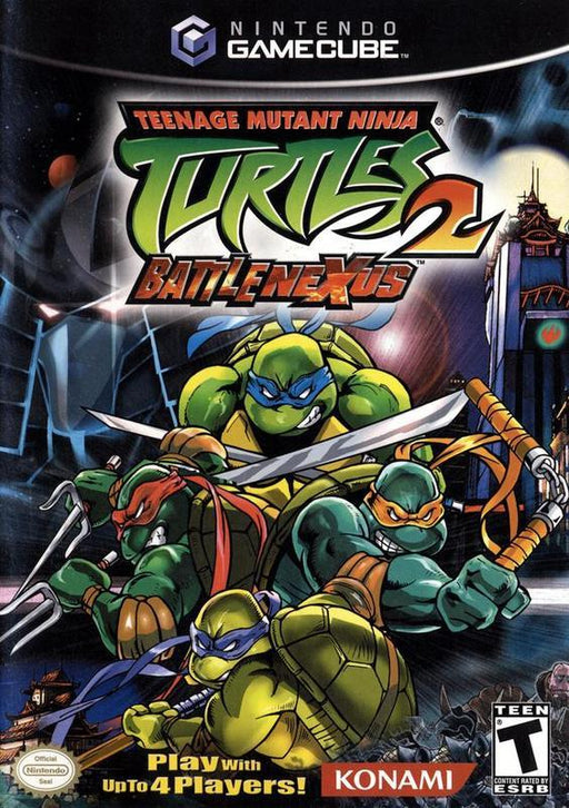 Teenage Mutant Ninja Turtles 2 Battle Nexus - Gamecube