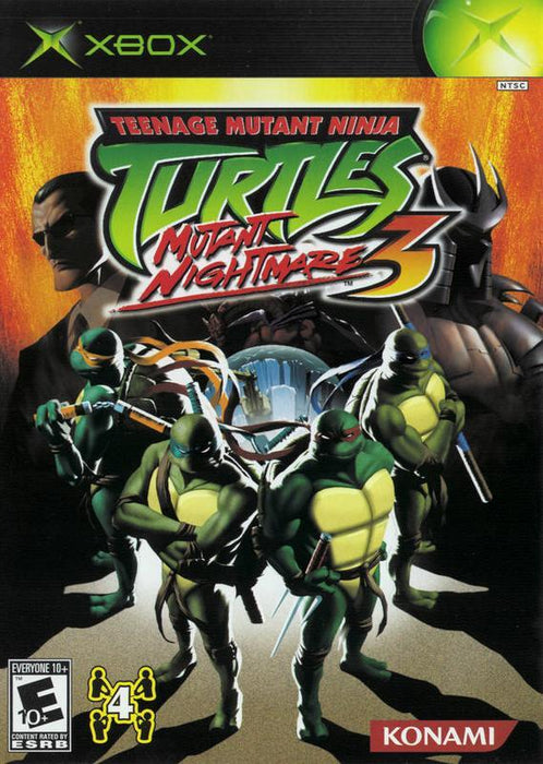 Teenage Mutant Ninja Turtles 3 Mutant Nightmare - Xbox