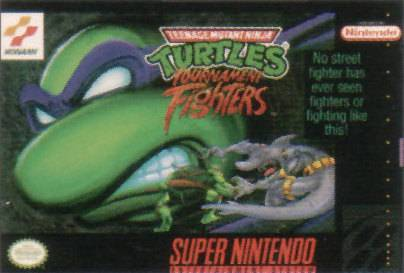 Teenage Mutant Ninja Turtles Tournament Fighters - Super Nintendo Entertainment System