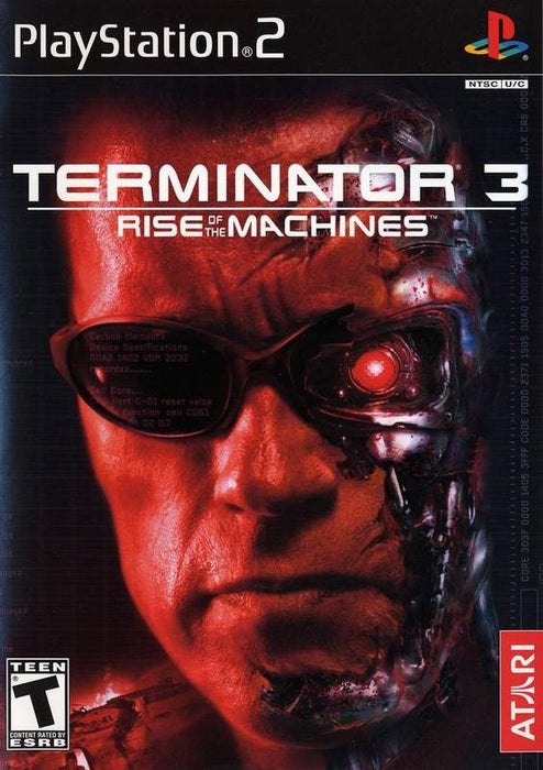 Terminator 3 Rise of the Machines - PlayStation 2