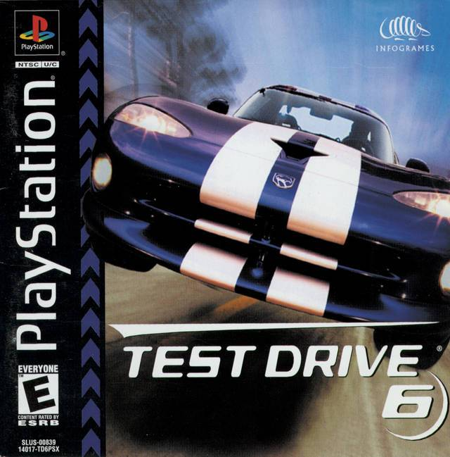 Test Drive 6 - PlayStation 1