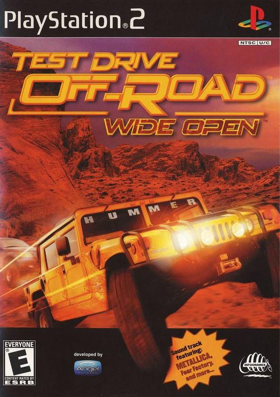 Test Drive Off-Road Wide Open - PlayStation 2