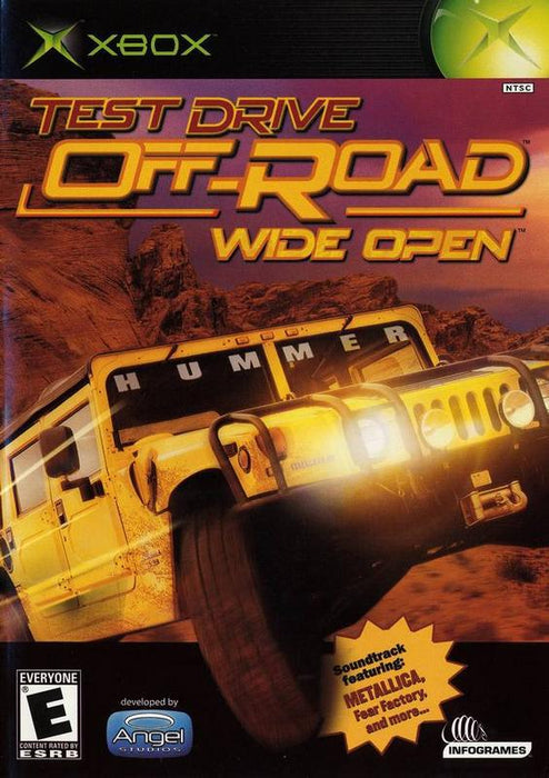 Test Drive Off-Road Wide Open - Xbox