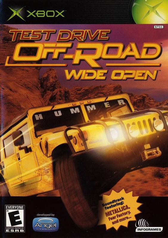 Test Drive Off-Road Wide Open