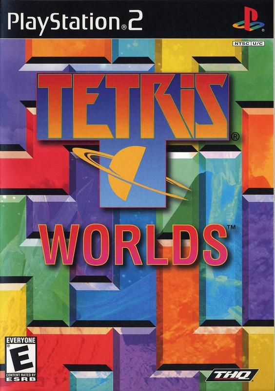 Tetris Worlds - PlayStation 2