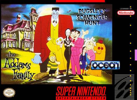 The Addams Family Pugsleys Scavenger Hunt - Super Nintendo Entertainment System