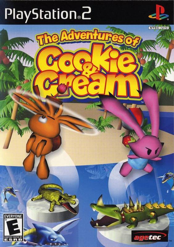 The Adventures of Cookie & Cream - PlayStation 2
