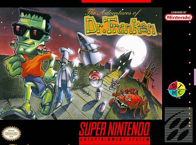 The Adventures of Dr. Franken - Super Nintendo Entertainment System