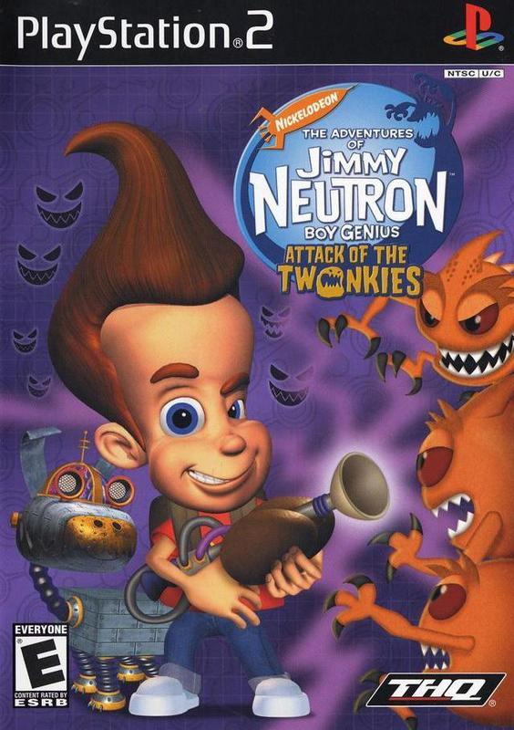 The Adventures of Jimmy Neutron Boy Genius Attack of the Twonkies - PlayStation 2
