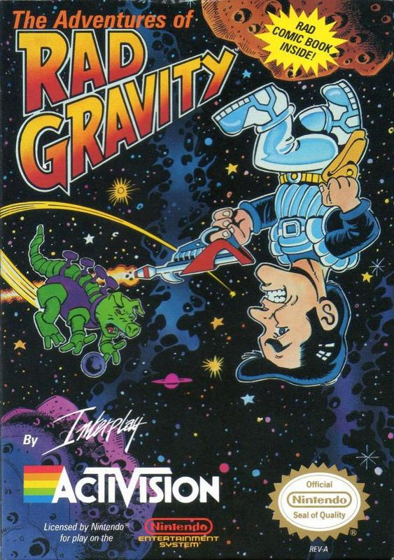 The Adventures of Rad Gravity - Nintendo Entertainment System
