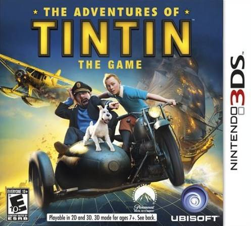 The Adventures of Tintin The Game - Nintendo 3DS