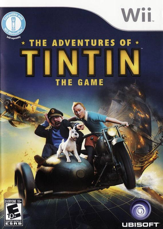 The Adventures of Tintin The Game - Wii