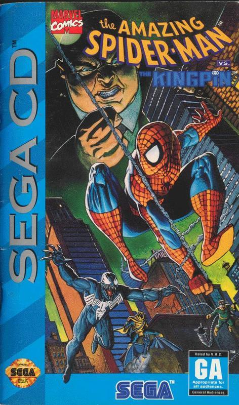 The Amazing Spider-Man vs. the Kingpin - Sega CD