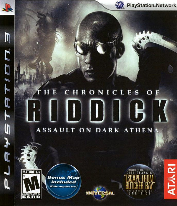 The Chronicles of Riddick Assault on Dark Athena - PlayStation 3