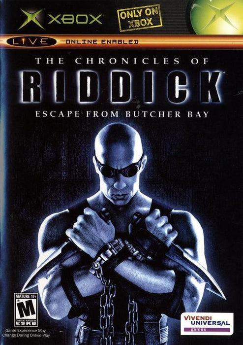 The Chronicles of Riddick Escape from Butcher Bay - Xbox