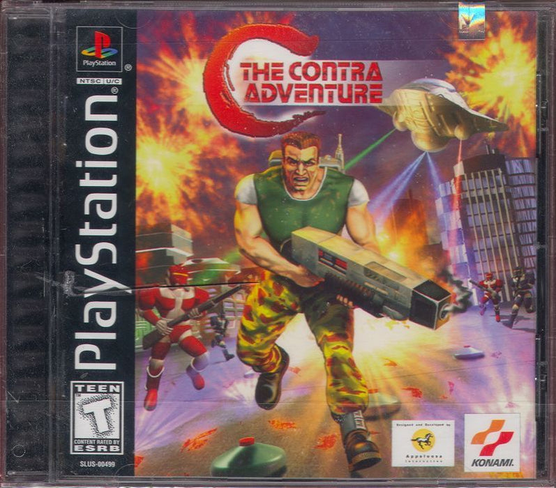 The Contra Adventure - PlayStation 1