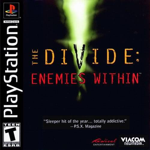The Divide Enemies Within - PlayStation 1