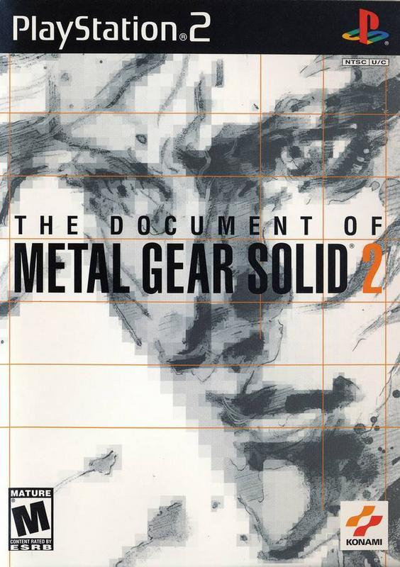 The Document of Metal Gear Solid 2 - PlayStation 2